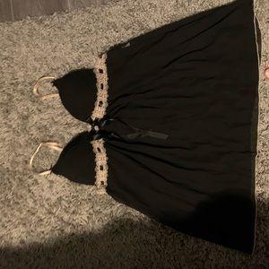 Xl black lingerie babydoll